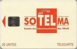 Mali - SoTelMa - Orange Logo, 20U, Cn. C3C000688, SC5, Used - Mali