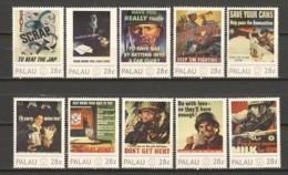 Palau - MNH Serie WORLD WAR II POSTERS - Seconda Guerra Mondiale