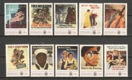 Micronesia - MNH Serie WORLD WAR II POSTERS - Seconda Guerra Mondiale