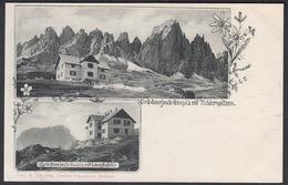 Italia  -  GRODNERJOCH,  Hospiz Mit Tschierspitzen - Bolzano