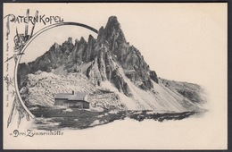 Italia  -  Paternkofel Drei Zinnenhütte - Bolzano