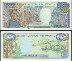 RWANDA - 5.000 Francs 01.01.1988 {Banque Nationale Du Rwanda} UNC P.22 - Ruanda