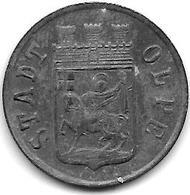 *notgeld  Olpe 10 Pfennig  1920 Zn  409.1 - Autres