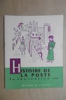 HISTOIRE DE LA POSTE La Récréation N°15 Editions De L'Accueil - Livret Scolaire 6-12 Ans - Courrier Messag Diligence PTT - 6-12 Ans
