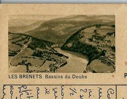 Carte Illustrée Obl. N° 182 - 0223 C  LES BRENETS Bassins Du Doubs   Obl. 10/08/54  Pour Londres (GB) - Entiers Postaux
