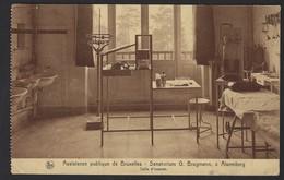 ASSISTANCE PUBLIQUE DE BRUXELLES * SANATORIUM G. BRUGMANN A ALSEMBERG * SALLE D'EXAMEN * 1932 - Santé, Hôpitaux