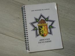 3éme GENIE CHARLEVILLE ARDENNES. AIDE MEMOIRE DU SAPEUR. 107 PAGES. - Catalogues