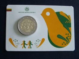 Lituanie Coin Card 2€ 2018 Song And Dance Celebration - Lituanie