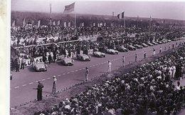 Le Départ De 24 Heures Du Mans 1953   -  Talbot Lago T26GS - Nash-Healey   -  15x10cms PHOTO - Le Mans