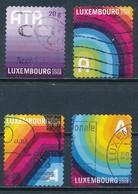 °°° LUXEMBOURG - Y&T N°1742/45/47/48 - 2008 °°° - Lussemburgo