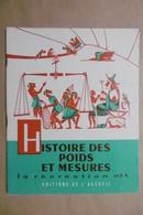 HISTOIRE DES POIDS ET MESURES La Récréation N°24 Editions De L'Accueil - Livret Scolaire 6-12 Ans - 6-12 Ans
