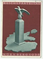 Reichsparteitag Nürnberg 1938 Gelaufen Mit Maschinen-Sonderstempel - Events
