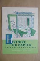 HISTOIRE DU PAPIER La Récréation N°26 Editions De L'Accueil - Livret Scolaire 6-12 Ans - Papyrus Art Et Fabrication - 6-12 Ans