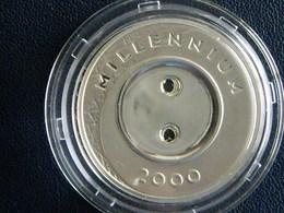 Lettonie Pièce 1 Lats Millenium 2000 - Letonia