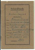 Schiessbuch Der Hitler-Jugend 1944 Ottweiler Westmark 18 Seiten - Documentos Históricos