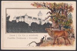 CPA Czech Republic -  BENESCHAU / BENESOV,  Zámek Konopiste - Repubblica Ceca