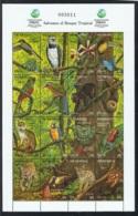1992 12. Nov. Rainforest KLB Mi NI 3167-3182  Sn NI 1917 Postfrisch Xx - Nicaragua