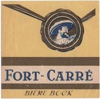 ETIQUETTE. SAINT-DIZIER (52) BRASSERIE Du FORT-CARRE.  BIERE BOCK. - Bière