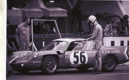 24 Heures Du Mans 1968  -   Alpine Renault  A210 (Pilote: Jean-Louis Marnat)   - 15x10cms PHOTO - Le Mans