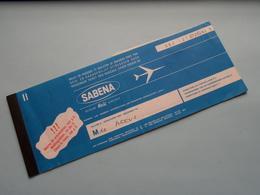 Ticket BRUSSELS > KINSHASA ( Sabena 1972 : Voir Photo / Zie Foto ) ! - Autres