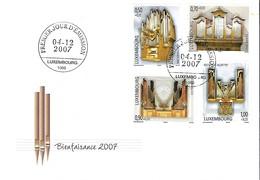 FDC - 4.12.2007  -   JOUR D'ÉMISSION    BIENFAISANCE  2007 - FDC