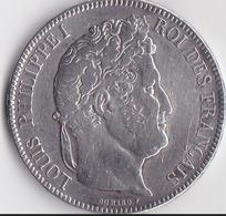 1841:  5 Francs En Argent De TYPE DOMARD.F - France