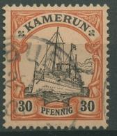 Kamerun 1900 Kaiseryacht Hohenzollern 12 Gestempelt - Kolonie: Kamerun