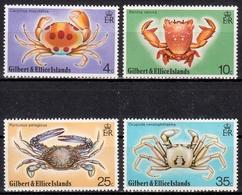 Gilbert- Und Ellice-Inseln MiNr. 232/35 ** Krabben - Briefmarken