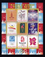 Malawi 2008 Sheet MINT History Of Summer Olympic Games From Moscow To London - Summer 2012: London