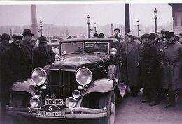 Chrysler Imperial De T.Baron De Montpelier A La Place De La Concorde Avant Le Rallye Monte-Carlo 1933   -  15x10 PHOTO - Rallyes