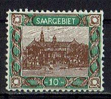 Saargebiet 1921 // Mi. 68 * - 1920-35 Société Des Nations