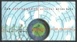 Germany BRD 2000 - 5 Pre-stamped Stationery Postal Cards Michel PSo 59/1 - 59/5 Millennium Jahrtausendwechsel - Astrologie