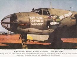 Décoration D'un B26  Marauder      Document Original Américain De 1948 - Aviation