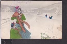 Postkarte  Weihnachten , V.K. Vienne 1910 - Weihnachten