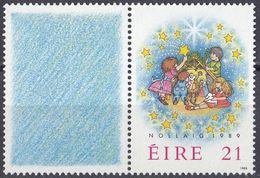 EIRE - 1989 - Yvert 700 Nuovo MNH Con Vignetta Associata. - 1949-... Repubblica D'Irlanda