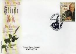 Macedonia / FDC / Science / Botanic / Carl Von Linne - Macedonië