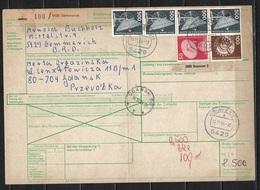 Bund Auslandspaketkarte Nach Danzig - [7] Federal Republic