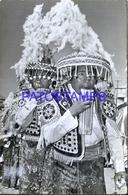 117542 PERU CUZCO COSTUMES NATIVE DANCER BAILARINES PAUCARTAMBO A LA FIESTA INTIRAIMI 60591 POSTAL POSTCARD - Peru