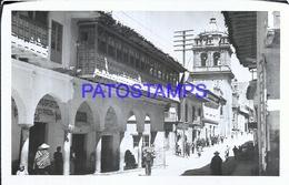 117544 PERU CUZCO LOS PORTALES Y LA MERCED POSTAL POSTCARD - Peru