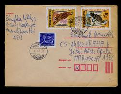 Eagles Aigles Rapaces Diurnes Birds Oiseaux Faune Cover 1962 Gc4148 - Aquile & Rapaci Diurni