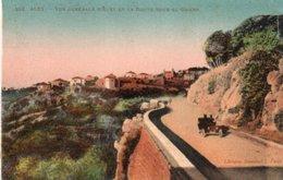 Aley Vue Generale  D Aley Et La Route Souk El Gharb - Lebanon