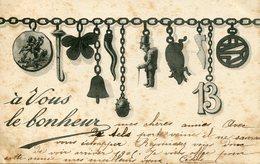A VOUS LE BONHEUR  -- - Tarjetas De Fantasía