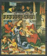 Centrafricaine Rép. Bloc-feuillet YT N°52 Noel 1981 Cranach La Sainte Famille Neuf/charnière * - Centrafricaine (République)