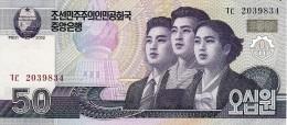 NORTH KOREA 50 WON 2002 (2009) P-60 UNC [KP341a ] - Korea, North