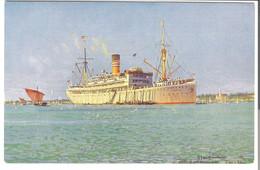 Deutsche Ostafrika-Linie, Hamburg Von 1920 (3604) - Steamers