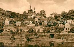 73573943 Rothenstein_Jena Partie An Der Saale Blick Zur Kirche Rothenstein_Jena - Deutschland