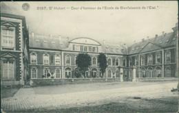 BE SAINT HUBERT / Cour D'Honneur De L'Ecole De Bienfaisance De L'Etat / - Saint-Hubert