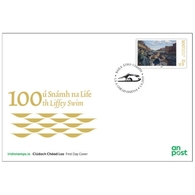 Ireland/Eire 2019 - The 100th Liffey Swim FDC - 1949-... República Irlandése