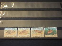 VANUATU - 1992  TARTARUGHE 4 VALORI - NUOVI(++) - Vanuatu (1980-...)