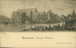 BE TERVUEREN / L'Ancien Château / Gravure - Tervuren